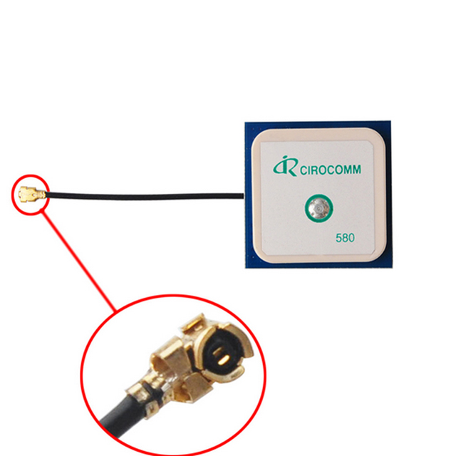 Built in Passive GPS Antenna With MMCX Connector
